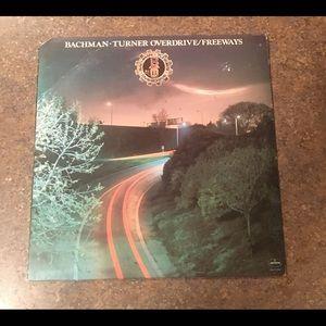 Other - Bachman Turner Overdrive Freeways Vinyl LP Album